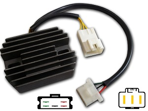 CARR694SW Honda Silverwing MOSFET Voltage regulator rectifier