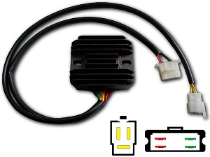 CARR694SH Honda Shadow MOSFET Voltage regulator rectifier