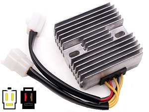 CARR731 DR250 DR350 RD125 MOSFET Voltage regulator rectifier