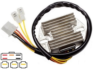 CARR751 Suzuki Intruder MOSFET Voltage regulator rectifier