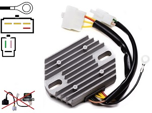 CARR771 Suzuki GT MOSFET Voltage regulator rectifier