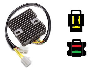 CARR811 Honda VT1100c Shadow 2002- MOSFET Voltage regulator rectifier