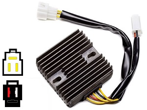 CARR851 Suzuki Hyosung MOSFET Voltage regulator rectifier