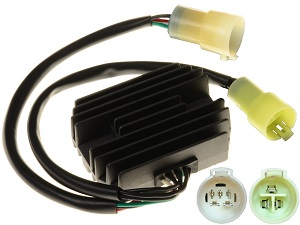 CARR911J Kawasaki KVF Voltage regulator rectifier