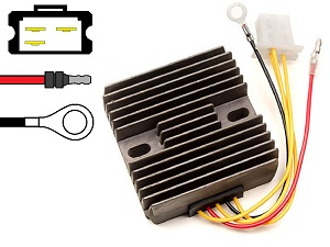 CARR921 Kawasaki KH250 MOSFET Voltage regulator rectifier