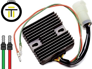 CARR941 Honda TRX300 MOSFET Voltage regulator rectifier