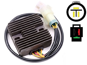 CARR951 Honda TRX300 MOSFET Voltage regulator rectifier