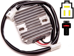 CARR961 Kawasaki KLX250 KLX300 MOSFET Voltage regulator rectifier