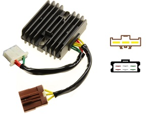 CARR971 - Aprilia MOSFET Voltage regulator rectifier