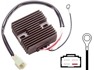 CARR981 Yamaha MOSFET Voltage regulator rectifier
