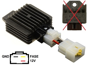 CARR9852 SH746AA voltage regulator (improved)