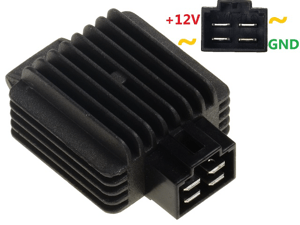 CARR9852 2 fase Voltage regulator rectifier