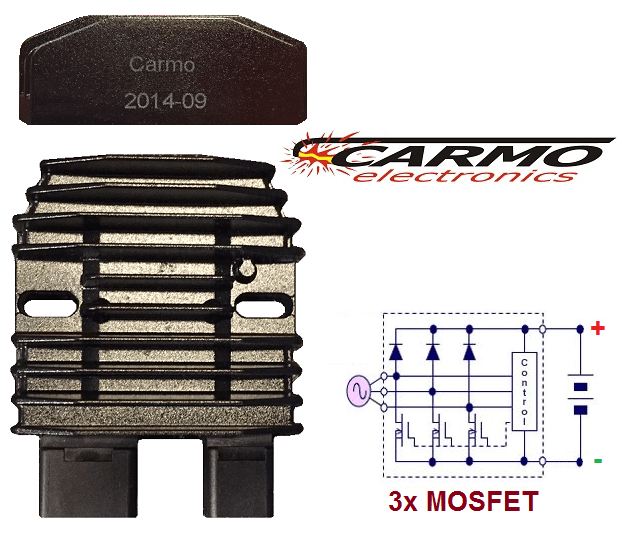 Carmo Honda regulator rectifier MOSFET