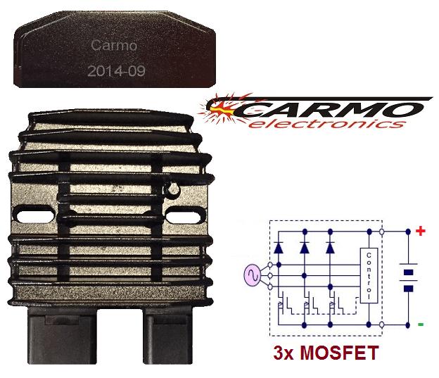 CARR2102 Honda MOSFET Redresseur Régulateur De Tension