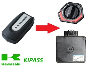 Kawasaki GTR1400 Concours KIPASS FOB learning when you lost all your keys