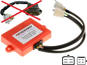 Kawasaki KZ650 KZ750 GPz750 improved igniter ignition module TCI CDI Box 21119-1050, 21119-1055