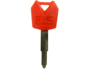 Kawasaki blanco chip key (red) 27008-0034