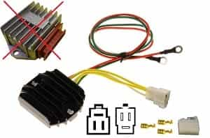 CARR5115 Rotax MOSFET Voltage regulator rectifier (343620, 362001)