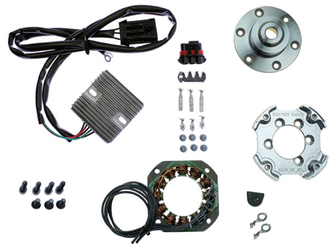Suzuki GSXR600 yoshimura race alternator strator kit