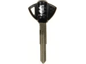 Suzuki blanco transponder chip key (black)