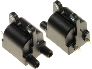 Triumph double output ignition coil (356 1 00, 152-001-070T)