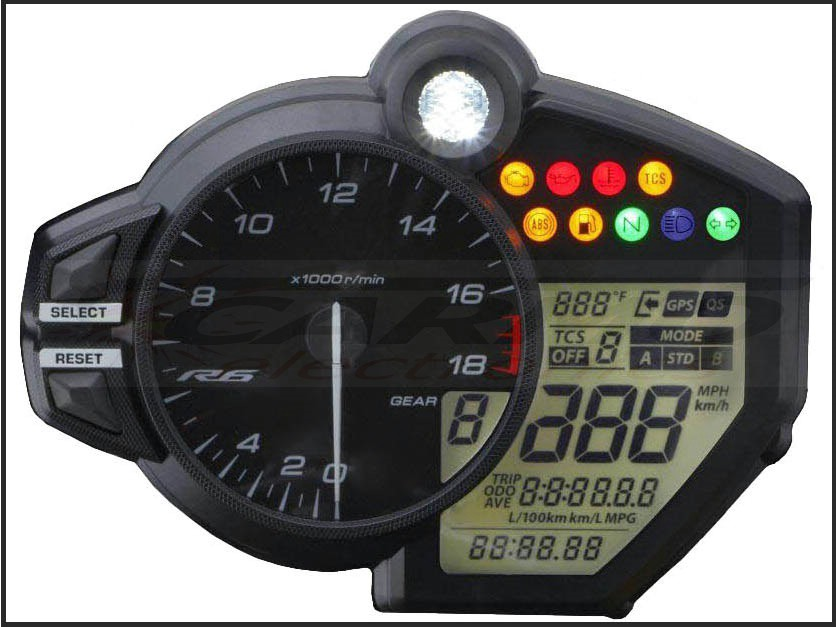 YZF-R6 RJ27 : Carmo Electronics,