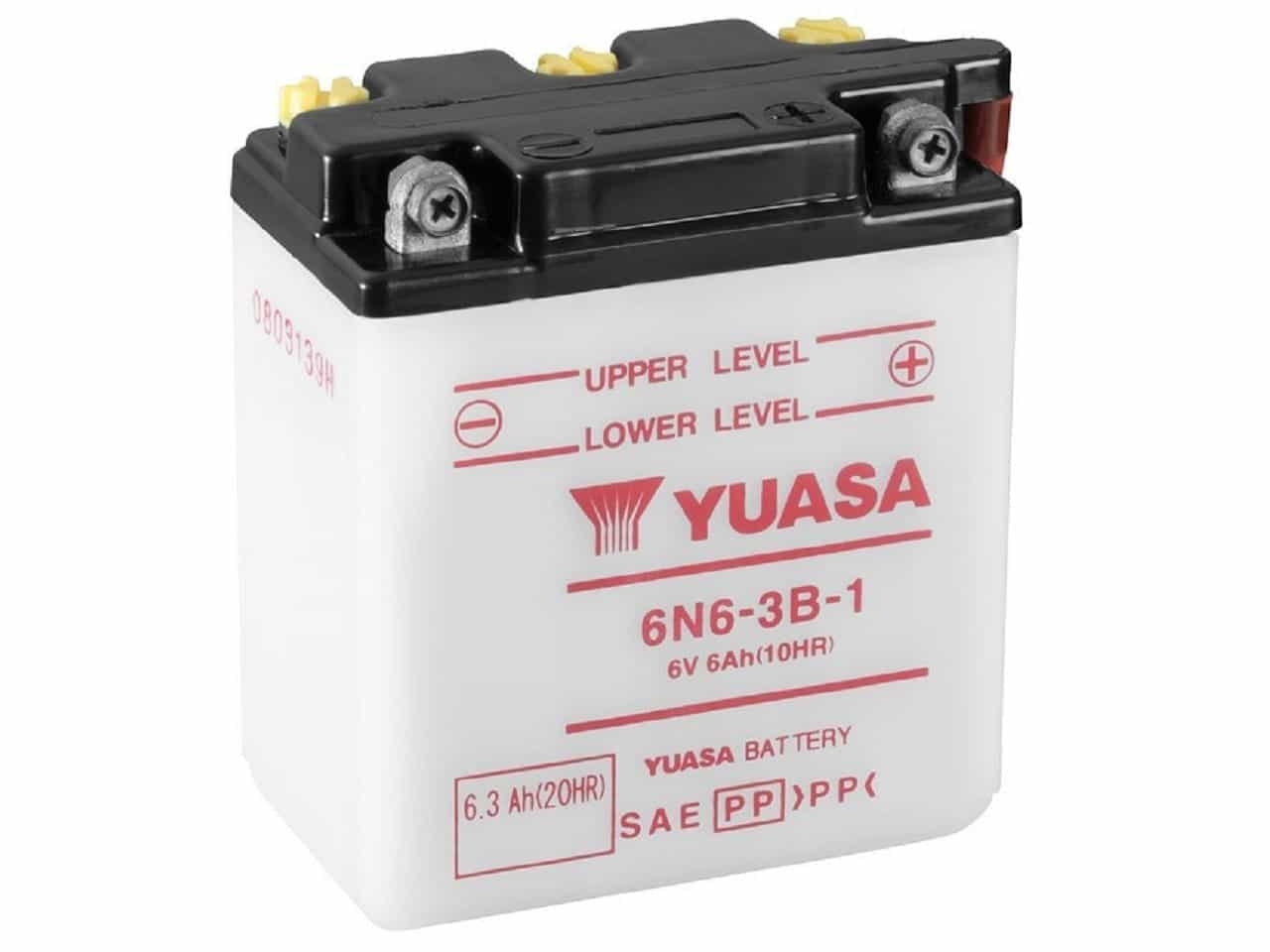 Conventional Batteries - 6 Volt
