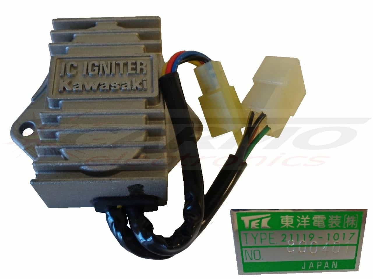 Kawasaki Carmo Electronics The Place For Parts Or 80 Kz650 Wiring Diagram 454 Ltd 21119 1017 Cdi Zndbox