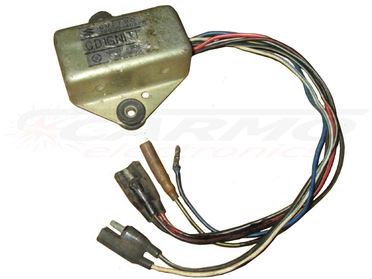 Suzuki Carmo Electronics The Place For Parts Or Dr250 Wiring Diagram Rm125 Rm100 Igniter Ignition Module Cdi Tci Box 32900 40220 Kokusan Denki
