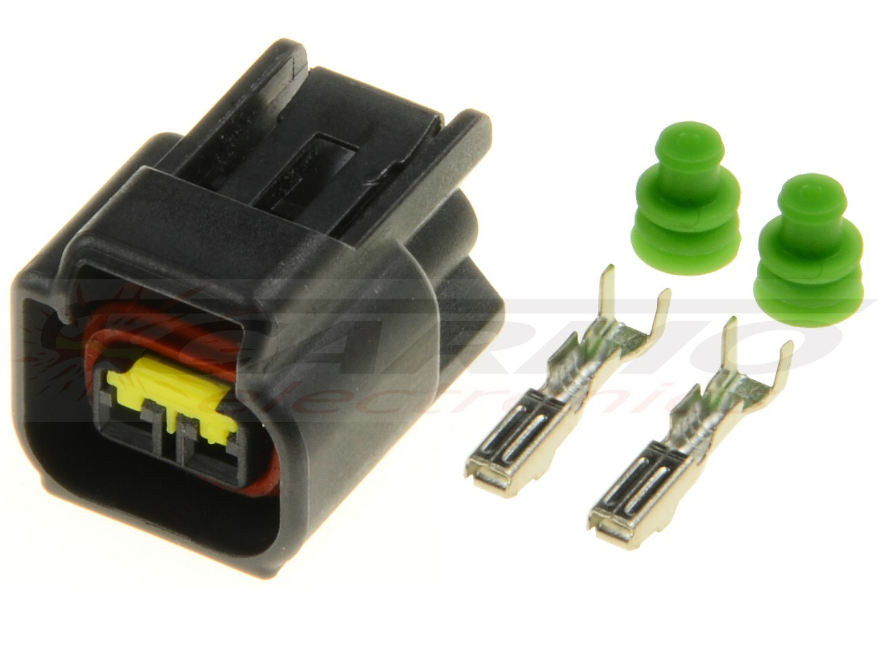 2 way Nippon Denso ignition coil connector plug (129700, 21171) [2