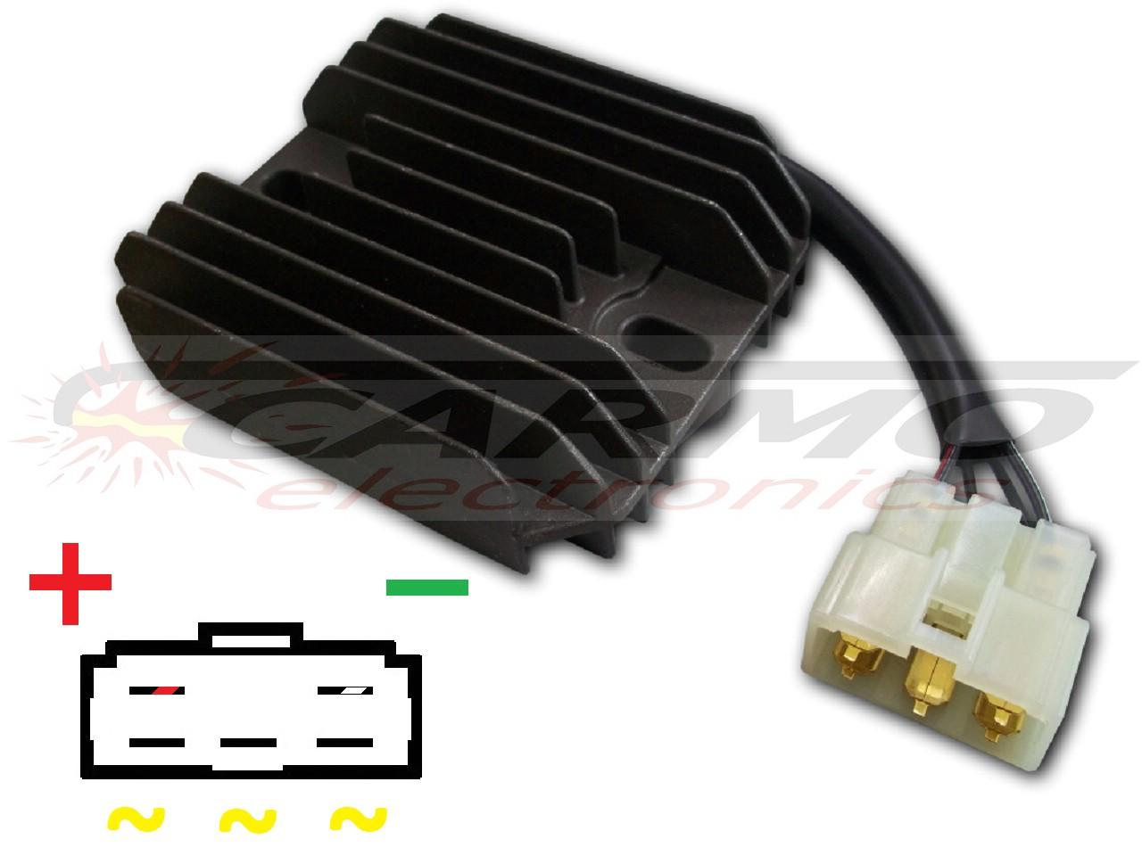 Spannungsregler Gleichrichter für Suzuki SV DL
