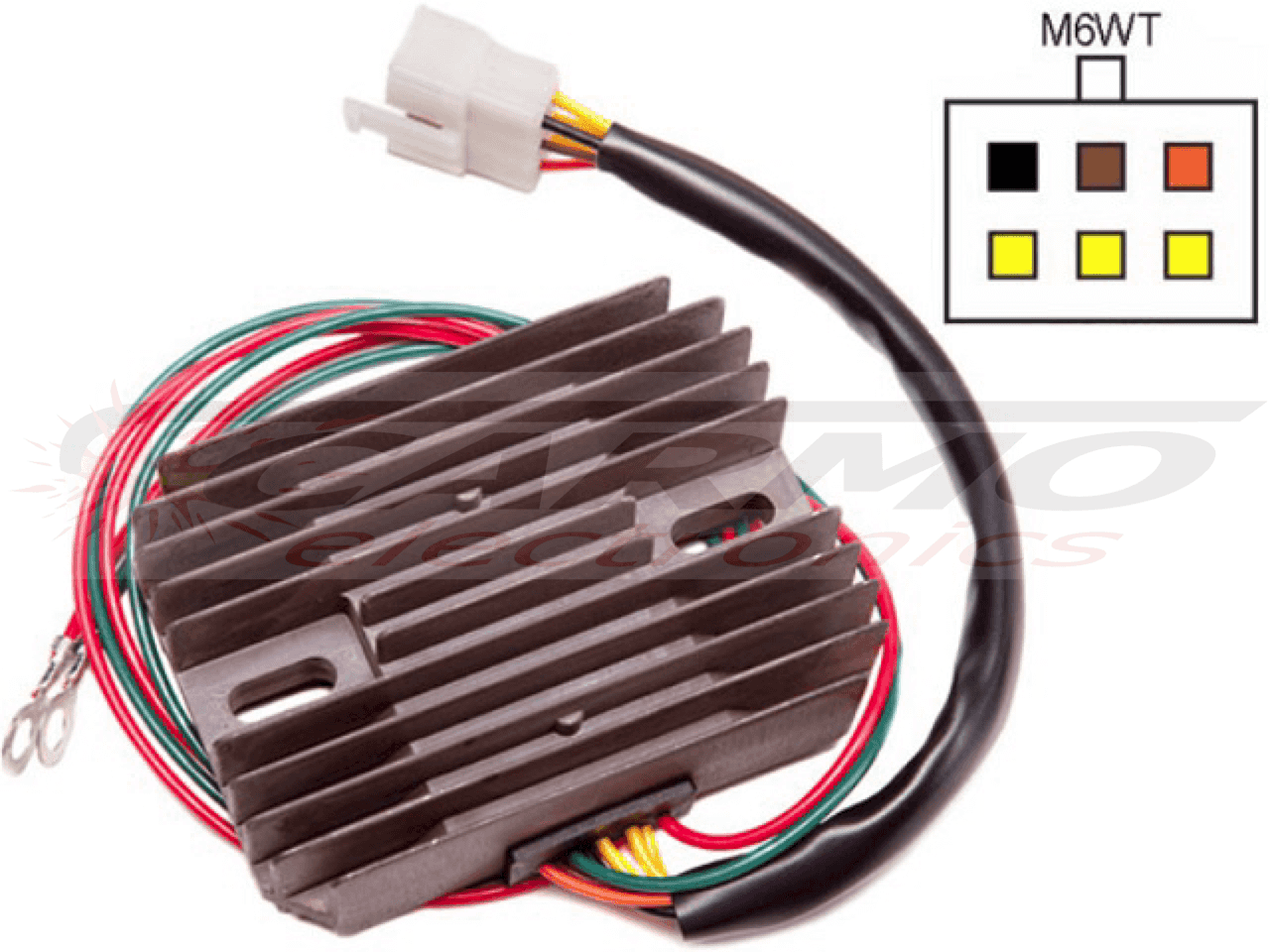 Carr451 14500 Carmo Electronics Wiring Harnesses For The Moto Guzzi 850 T3 California Agrandir Limage