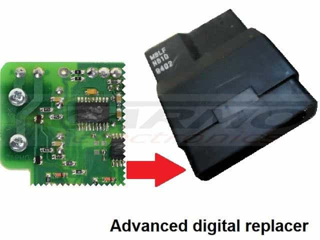NTV650 CDI Replacer MBLF MBLJ - Click Image to Close