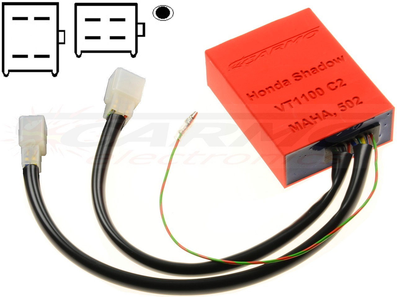 Honda VT1100 C2 Shadow CDI igniter ignition box (MAHA) larger image