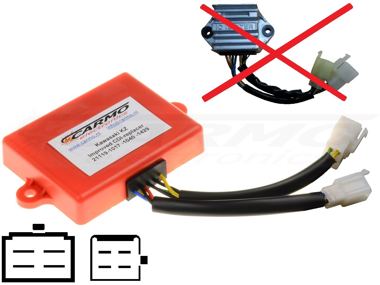 BLACKBOX Performance Programmable CDI//ECU Ignition Rev Box Triumph Speedmaster