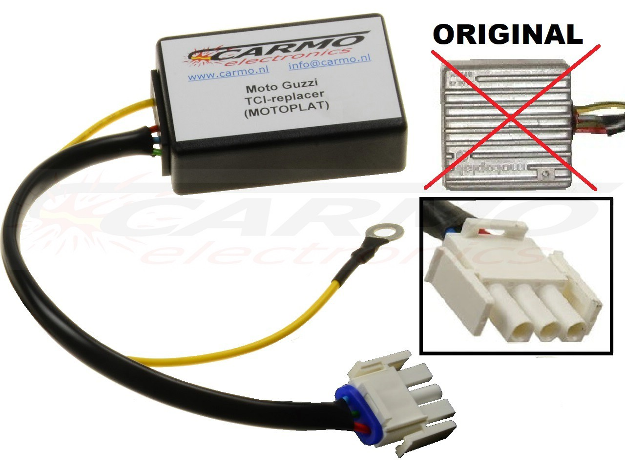 Improved CDI TCI ECU Replacers units : Carmo Electronics