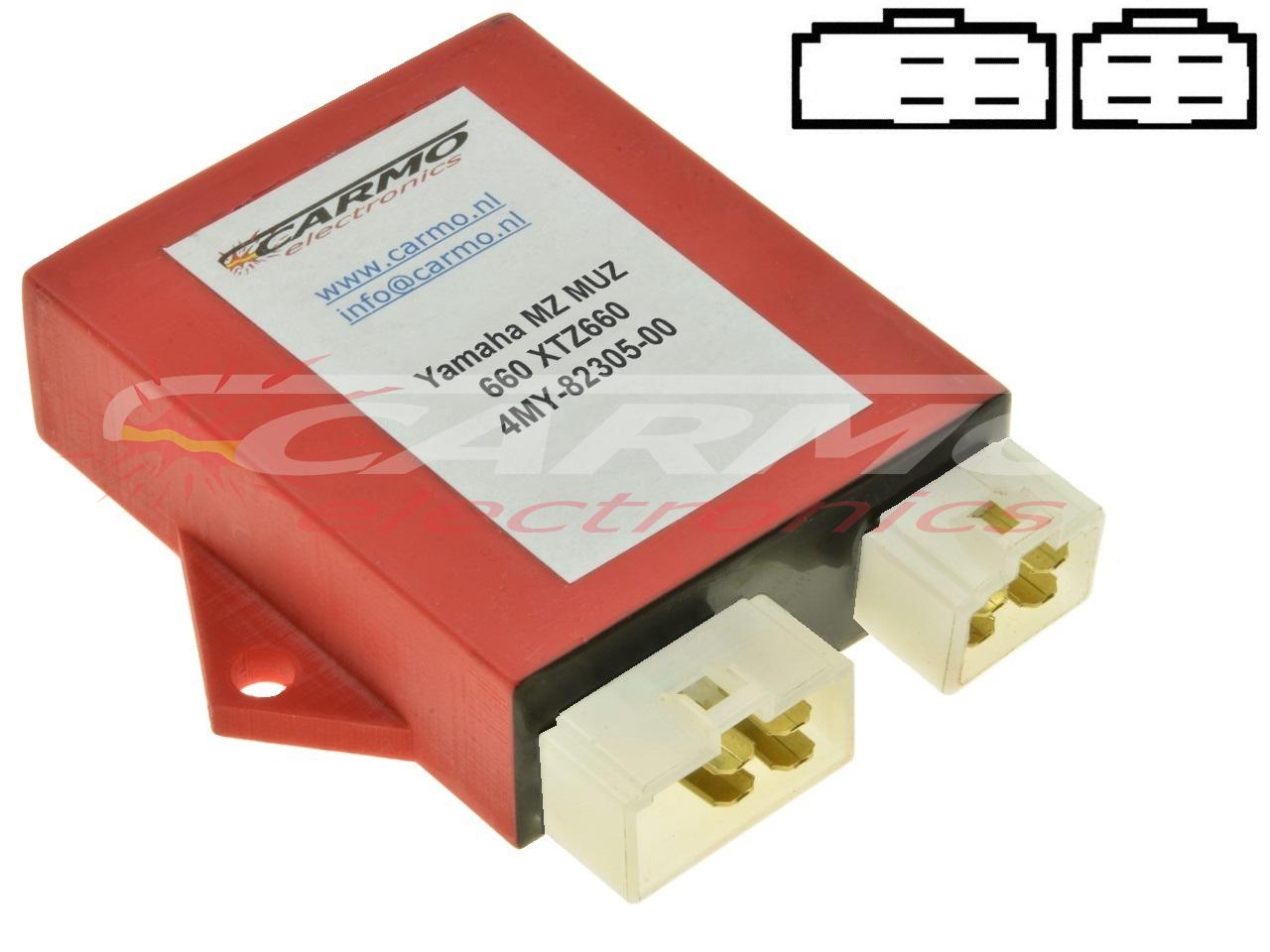 Yamaha MZ MUZ 660 XTZ660 CDI igniter (4MY-82305-00, 131800-6150