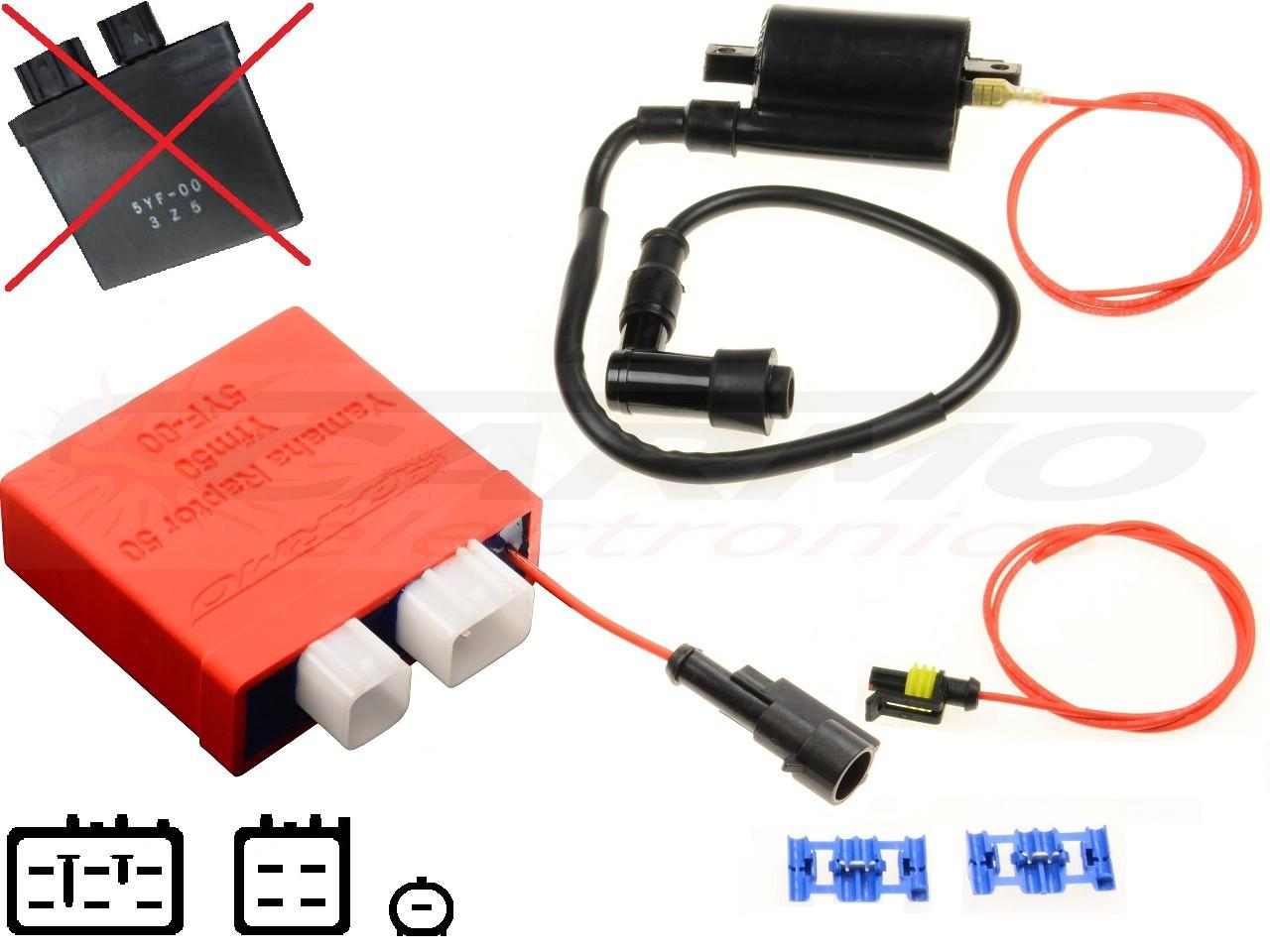 Yamaha TDM 900 03/' 5PS-82380-00 air pressure map sensor 1