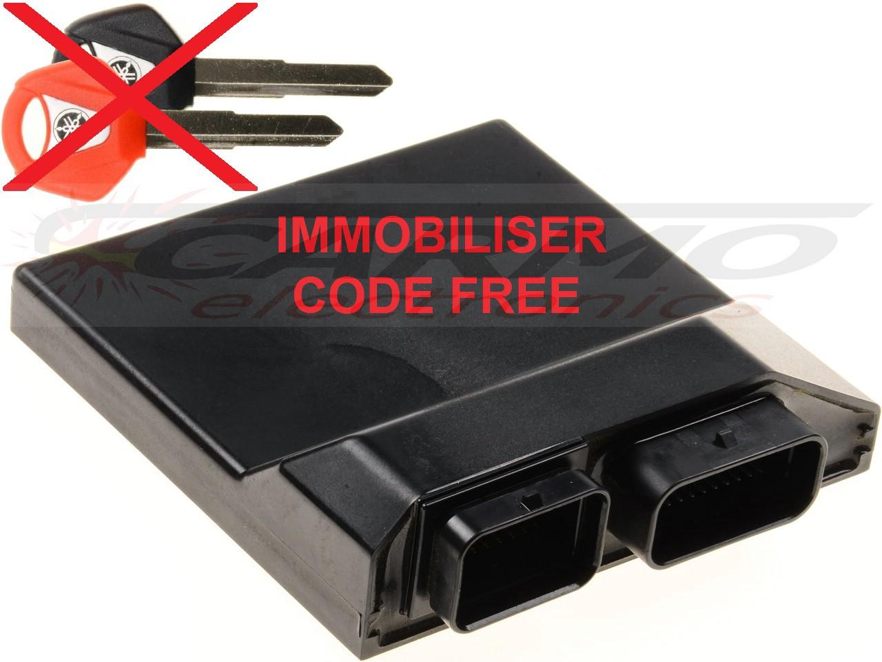 Yamaha ECU ECM brain immobiliser reset / code free [Yamaha ECU