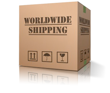 Carmo send over the world, wordwide shipping