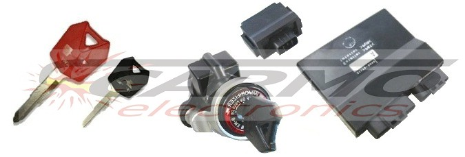 Kawasaki immobilizer keys lost